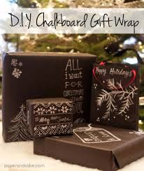 chalkboard wrapping paper 52 insanely clever gift wrapping ideas you ll page 4 of 10