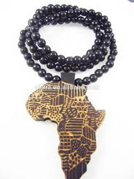 wooden necklaces men s africa pendants fashion wood hip hop rosary chain
