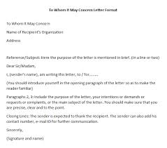 can a cover letter start with to whom it may concern