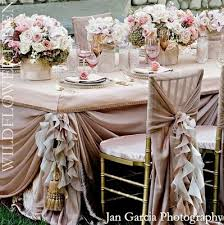 pale pink table cover blush pink wedding theme by fruityjoylala valentine s day weddings