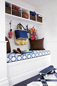 these 15 mudroom benches will help organize