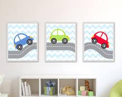 Car Nursery Decor Car Nursery Etsy