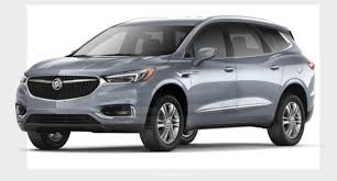 2018 buick enclave grey silver body color paint the news wheel