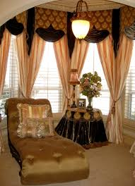 Bedroom Valance Curtains Grandeur Design Custom Drapery Featuring Fabric Produced And