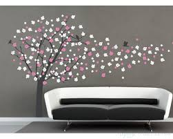 blossom tree wall decal with birds