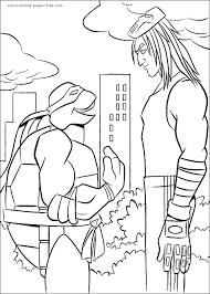 teenage mutant ninja turtles tmnt color page coloring pages