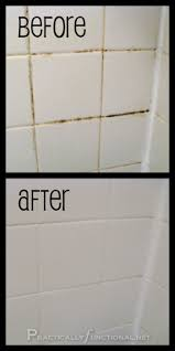 Cleaning White Grout Handy Tip On Cleaning Your Bathroom Grout With Household Items