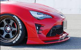 red subaru brz stancenation x aimgain type 2 collaboration aero toyota 86
