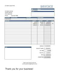 free download invoice template excel excel sales invoice template