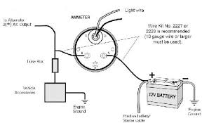 autometer amp wiring diagram wiring diagrams