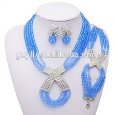 beautiful beads necklace images Special crystal beautiful trendy bead jewelry set charming jpg