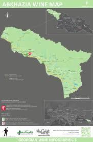 map of abkhazia wine maps marani