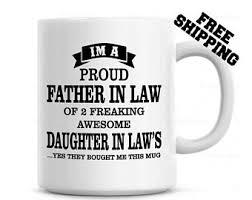 father in law mug etsy