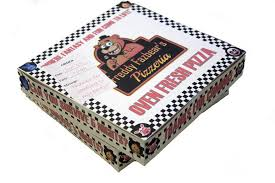 personalized pizza boxes five nights at freddy s personalized pizza box party favor box