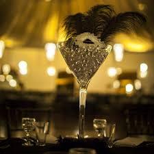 Martini Glass Centerpieces Masquerade Centrepiece Martini Glass Hire Feel Good Events