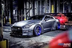 nissan gtr matte blue pasmag performance auto and sound gone viral jj dubec u0027s