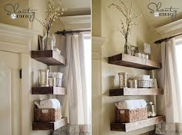 Wooden Shelves For Bathroom Bathroom Shelves To Increase Your Storage Space