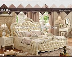 Luxury Bedroom Sets Furniture by European Bedroom Furniture Bedroom Set With Gold Leaf Antique