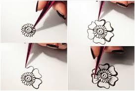 easy henna tattoo design best henna design ideas