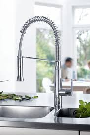 101 best kitchen faucets images on pinterest kitchen faucets buy the grohe 31380000 starlight chrome direct shop for the grohe 31380000 starlight chrome pre rinse kitchen faucet with toggle sprayer and save