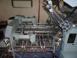 folders used finishing machines stahl kc 78 4 kll 32 pages folding