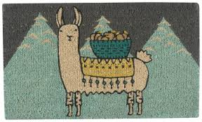 Bonjour Doormat Now Designs Danica Llamarama Doormat Everything Kitchens