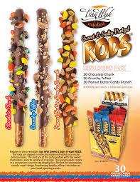 wholesale pretzel rods concession sweet salty pretzel rods pack wyk confections