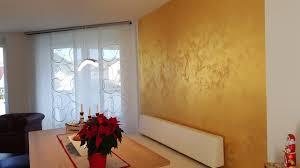 wandgestaltung gold wandgestaltung