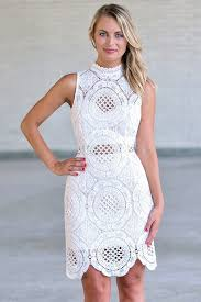 white lace high neck sheath dress white lace rehearsal dinner