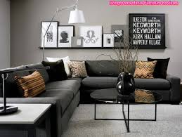 Black Living Room Chair Black Living Room Furniture Gray Corner Sofa