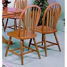 Windsor Dining Room Chairs Amazon Com Winsome Wood Windsor Chair Natural Set Of 2 Chairs