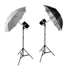 cheap umbrella lighting kit 400 watt two photo studio monolight strobe flash umbrella lighting