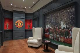 manchester united living room