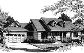one story farmhouse plan 3424vl architectural designs house