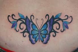 posts purple lower back butterfly purple butterfly