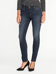 mid rise curvy skinny jeans for women old navy