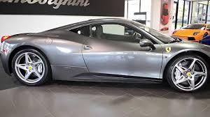 Ferrari 458 Colors - 2010 ferrari 458 italia grigio silverstone lc264 youtube
