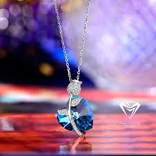 blue heart necklace jewelry images Confessions jewelry mega creative jewelry 925 sterling silver jpg