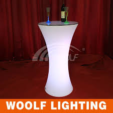 Highboy Table Light Up Led Portable Highboy Cocktail Table Buy Led Highboy