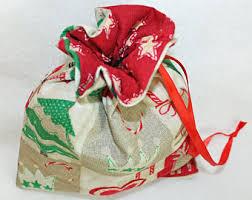 fabric gift bag etsy
