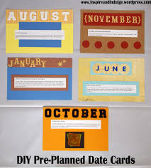 what date is thanksgiving this year diy 12 pre planned date cards