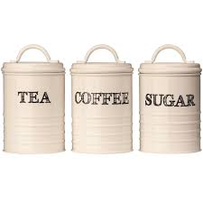 ebay kitchen canisters coffee sugar tea jars storage pot cream sketch food kitchen 3