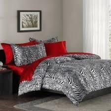 Pink Zebra Comforter Zebra And Red Bedding Animal Print Comforter Sets King Foter