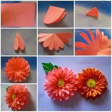 Handmade Flowers Paper - best 10 paper dahlia ideas on pinterest paper flowers diy