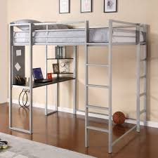 loft bed with desk dorel living harlan loft bed with desk hayneedle