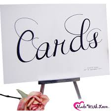 sign a wedding card wedding accessory bits to buy cards wedding signs cards