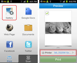 printer app for android application samsung mobile print android application on the