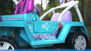 jeep power wheels for girls 34 off disney frozen power wheels jeep 199 00 at amazon