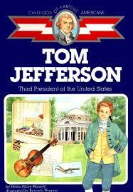 thomas jefferson third president of the united states childhood
