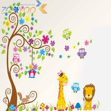 wall stickers home decor 3d wall stickers home decor zooyoo kids nursery wall stickers